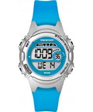 Timex TW5K96900 Naisten maratonin puolivälissä koko sininen hartsi hihna ajanotto katsella
