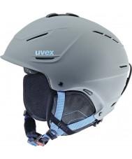 Uvex 5661535407 P1us harmaa sininen suksi kypärä - 59-62cm